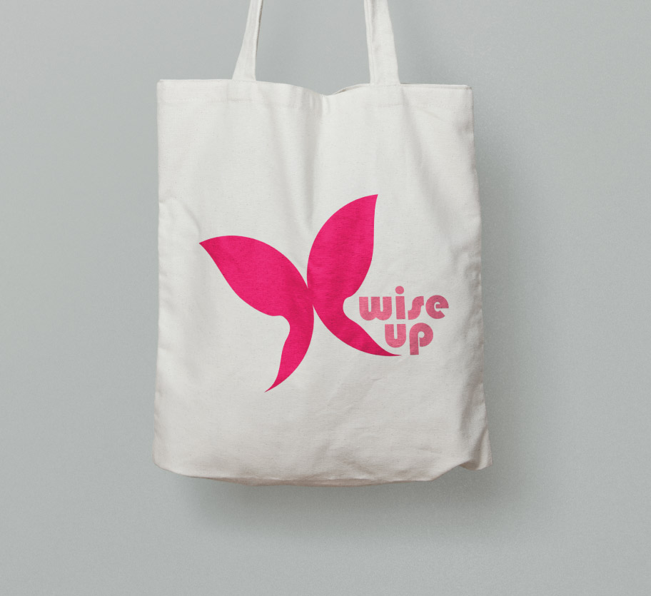 Wise Up Brand client bag | Develop Greece