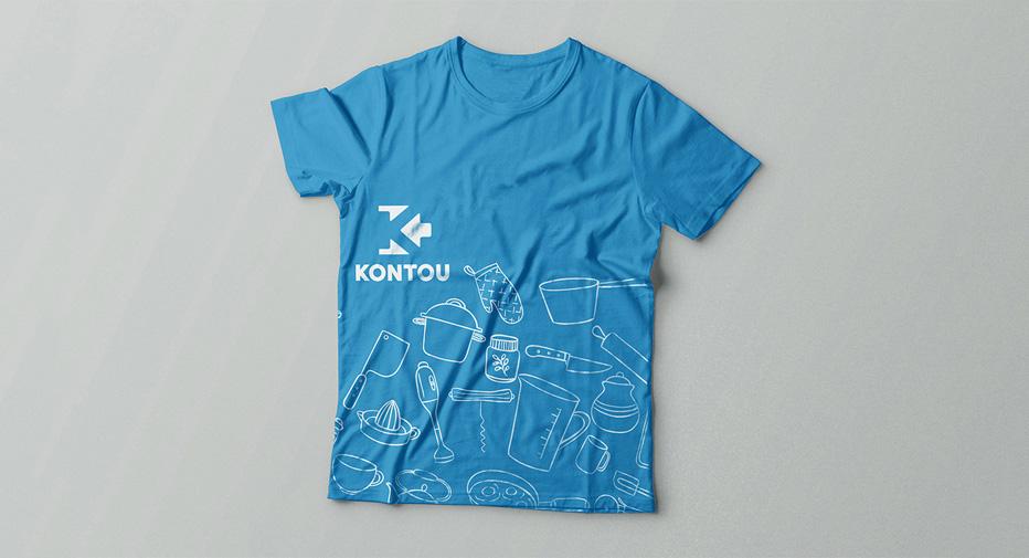 Kontou client t-shirt | Develop Greece