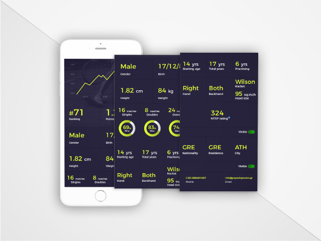 Tennster client application   Develop Greece