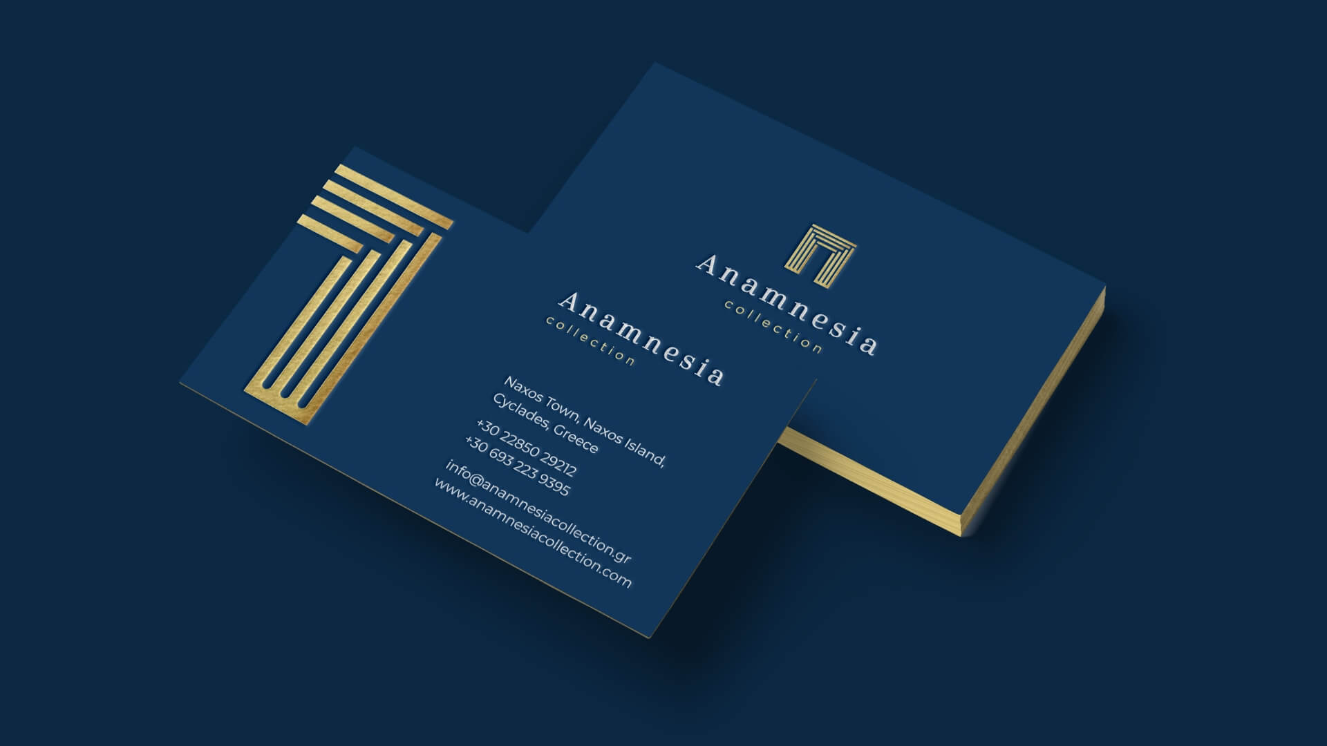 Anamnesia business card