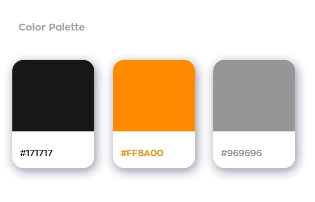 Edgit color palette