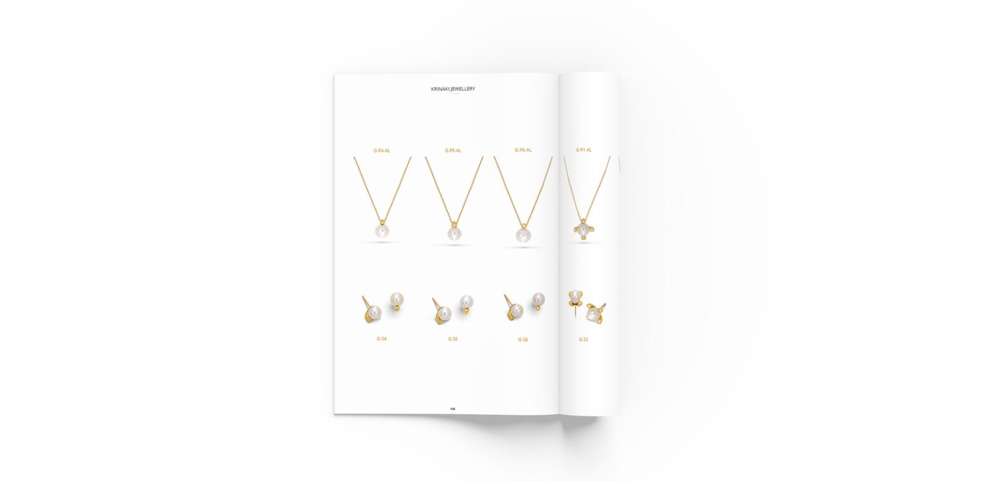 Krinaki lookbook design