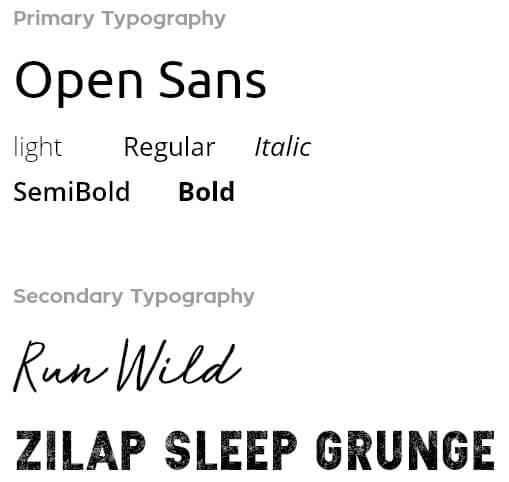 Fitius typography